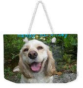 Cocker Spaniel Birthday Weekender Tote Bag