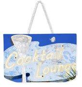 Cocktail Lounge Weekender Tote Bag