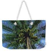 Coconut Palm Weekender Tote Bag