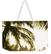 Coconut Palm Trees On The Coast Weekender Tote Bag
