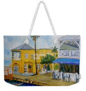 Coconut Tree In The Middle Weekender Tote Bag