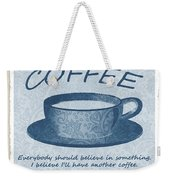 Coffee 1 Scrapbook Weekender Tote Bag