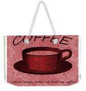 Coffee 2 Scrapbook Weekender Tote Bag