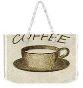 Coffee 3-2 Scrapbook Weekender Tote Bag