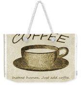 Coffee Cup 3 Scrapbook Weekender Tote Bag