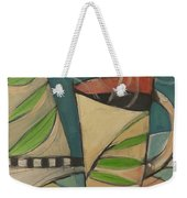Coffee Cup With Leaves Weekender Tote Bag