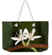 Coffee Flowers Weekender Tote Bag