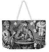 Coffee, Tea & Chocolate, 1685 Weekender Tote Bag by Granger