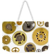 Cogwheels - Gears Weekender Tote Bag by Michal Boubin