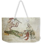 coinage - Gothic mural Weekender Tote Bag