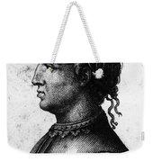 Cola Di Rienzo (1313-1354) Weekender Tote Bag
