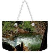 Cold Creek Waters Glen Alpine Creek Weekender Tote Bag