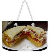 Cold Cut Sandwich Weekender Tote Bag