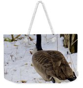 Cold Footed Goose On The Loose Weekender Tote Bag