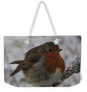 Cold Robin Weekender Tote Bag