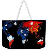 Cold War Map Weekender Tote Bag