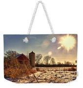Cold Winter Barn Weekender Tote Bag