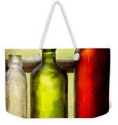 Collector - Bottles - Still Life Of Three Bottles  Weekender Tote Bag