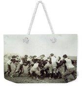 College Football Game, 1905 Weekender Tote Bag