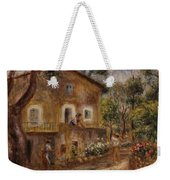 Collette's House At Cagne Weekender Tote Bag