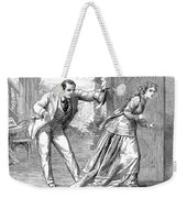 Collins: Woman In White Weekender Tote Bag