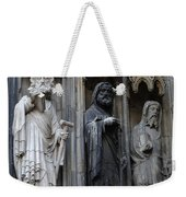 Cologne Cathedral Statues Weekender Tote Bag