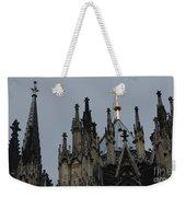 Cologne Cathedral Towers Weekender Tote Bag
