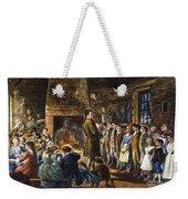 Colonial Schoolhouse Weekender Tote Bag
