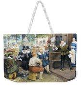 Colonial Smoking Protest Weekender Tote Bag