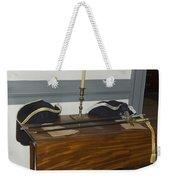 Colonial Soldiers Artifacts Weekender Tote Bag