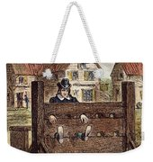 Colonial Stocks Weekender Tote Bag