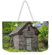 Colonial Stone Ice House Weekender Tote Bag