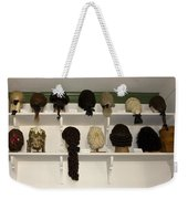 Colonial Wigs Display Weekender Tote Bag