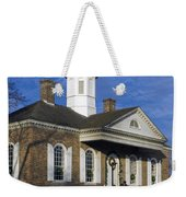 Colonial Williamsburg Courthouse Weekender Tote Bag