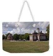 Colonial Williamsburg Scene Weekender Tote Bag