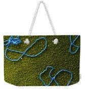 Color Enhanced Tems Of Kleinschmidt Weekender Tote Bag by Omikron