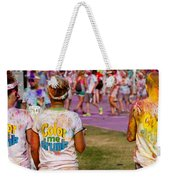 Color Me Drunk Weekender Tote Bag