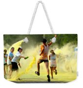 Color Run Happy Weekender Tote Bag