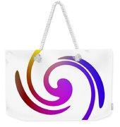 Color Spiral Weekender Tote Bag