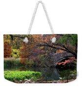 Color Splash In Central Park Weekender Tote Bag