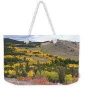 Colorado Autumn Aspens Colors Weekender Tote Bag