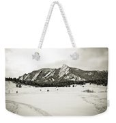 Colorado Boulder Flatirons  Weekender Tote Bag