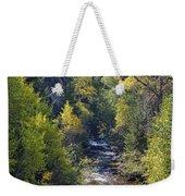 Colorado Left Hand Creek Boulder County Autumn View Weekender Tote Bag