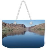 Colorado River At Willow Beach Az Weekender Tote Bag