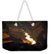 Colorado River Rapids Weekender Tote Bag