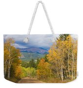 Colorado Rocky Mountain Autumn Scenic Drive Weekender Tote Bag
