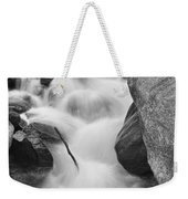 Colorado St Vrain River Trance Bw Weekender Tote Bag