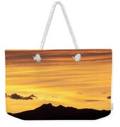 Colorado Sunrise Landscape Weekender Tote Bag