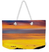 Colorado Sunrise -vertical Weekender Tote Bag