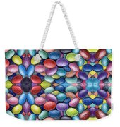Colored Beans Design Weekender Tote Bag